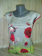 "ANATOPIK T-shirt femme DINO ""valentin""  T42 gris neuf 85€ été 2016"