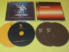 Renaissance Progression & Underwater Episode 1 - 2 Albums 4 CDS House Dance