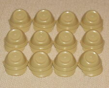 LEGO LOT OF 12 NEW TAN KEPI HATS WESTERN CALVARY CAP PIECES