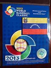 Official World Baseball Classic Patch With Venezuelian Flag Patch Authentic 2013