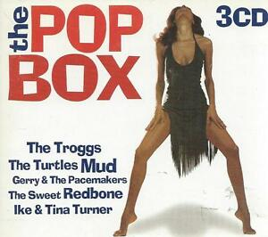 3 CD POP BOX 60's  NEW SEEKERS DAVE DEE TREMELOES HANK MIZELL SMALL FACES BUOYS
