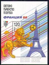 Bulgaria 1998 Sports/Football/WC/Lion 1v m/s (n28917)