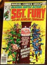 SGT. FURY 143 SERGEANT 1963 & HIS HOWLING COMMANDOS NICK AGENT OF SHIELD VF