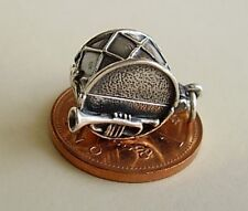 SUPERB ' DRUM - WALTZING COUPLE ' OPENING SILVER CHARM CHARMS