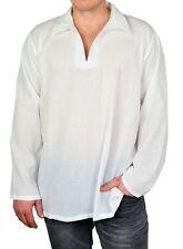 Normale-Größe Herren-Freizeithemden & -Shirts aus Baumwolle mit V-Ausschnitt