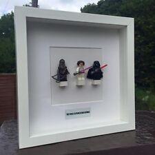 Star Wars Minifigures Framed Gift Lego Scrabble Personalised Luke Skywalker