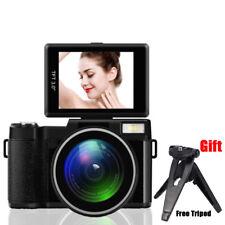 3'' Digital Camera Full HD 1080P Professional Video Camcorder 24MP 180° Rotation