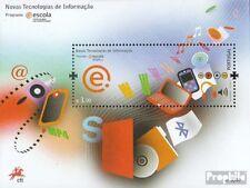Portugal Bloc 271 (complète edition) oblitéré 2008 nouveau Informationstechnolog