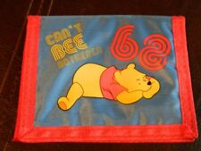 "Disney Winnie the Pooh ""Can't Be Bothered"" Bi-fold Wallet"