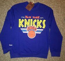 Rare NEW Vintage NEW YORK KNICKS Mitchell & Ness Crewneck Sweatshirt XXL 2X Crew