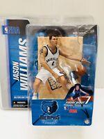 McFarlane NBA Memphis Grizzlies Jason Williams White Jersey Variant 2004