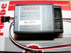 ROBBE Multi-Switch 12+2 Decoder Memory für FUTABA F-14, FC-16, FC-28  Art.8370