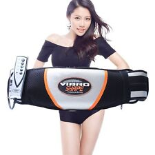 Slimming Vibro Shape Vibration Tone Body Toning Belt Massage LA UK Plug NL