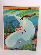 Moby Dick 4559 Hanna Barberas USA Whitman Frame Tray Puzzle Vintage 1968