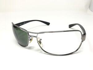 RAY BAN RB3379 004/58 Sunglasses Frame 64-15mm Gun Metal/Black Wrap XB10