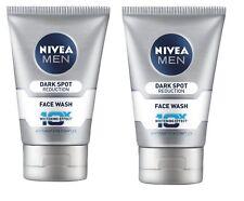 Nivea Men Dark Spot Reduction Face Wash (10X whitening), 100 gm x 2 pack