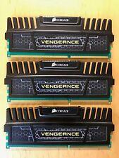 Corsair Vengeance 12 Go 3x4gb Triple Channel DDR3 1600 MHz PC3-12800 DIMM Bureau