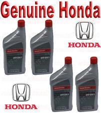 4-Quarts Genuine Honda ATF DW-1 Automatic Transmission Fluid   08200 9008