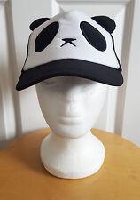 Kids Carino Panda Orecchie Berretto Cotone Regolabile Cappello Neonati per Bambini Berretto Da Baseball UK