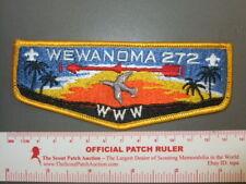 Boy Scout OA 272 Wewanoma Vigil flap 0534Y