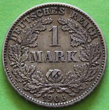 ALLEMAGNE 1 MARK 1906 G