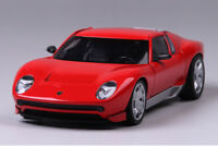 MotoR MAX 1:24 Lamborghini Miura Concept Alloy Sports Car Model Kids Toys