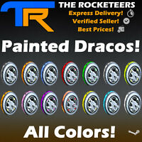 [PC] Rocket League Every Painted Draco Exotic Wheels (Crimson,White,SB...)