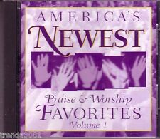 America's Favorites Praise Worship Vol 1 NEW SONG CHRISTIAN FELLOWSHIP SINGERS