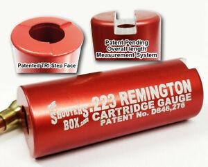 223 Remington Case & Ammunition Gauge - Free Shipping - Patented Gauge !