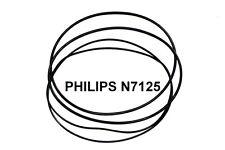 SET CINGHIE PHILIPS N 7125 REGISTRATORE A BOBINE EXTRA FORTE NUOVE FRESCHE N7125