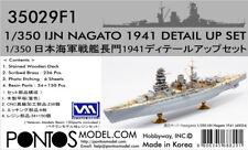 1/350 PONTOS IJN NAGATO 1941 SUPER DETAIL SET