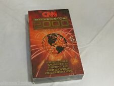 CNN Millennium 2000 VHS tape NEW SEALED incredible moments worldwide celebration