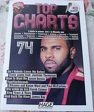 TOP CHARTS 74     MIT PLAYBACK - CD    >>> N E U <<<