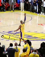 KOBE BRYANT'S FAREWELL MOMENT Los Angeles Lakers 2016 Premium POSTER Print