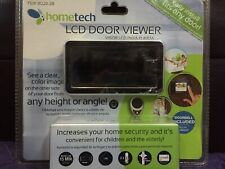 """hometech 2.8"""" LCD Visual Monitor Door Peephole Viewer With Doorbell Easy Install"""