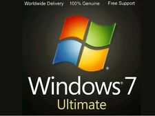 Windows 7 Operating System 86 know as 32bit and 64bit all pre activated