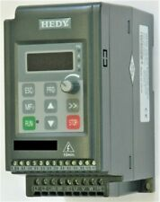 INVERTER VETTORIALE HEDY TRIFASE 400 Volt kw 1.5 AC DRIVE 2HP MOTORE ELETTRICO