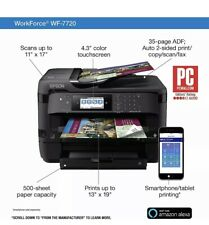 Epson WorkForce WF-7720 Wireless Wide-Format All-in-One Color Printer C11CG37201