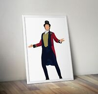 The Greatest Showman, Hugh Jackman, Print, Poster, wall art, gift, home decor
