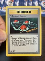 1st Edition Base Trainer Pokemon Center Card 85/102 1999 Rare WOTC