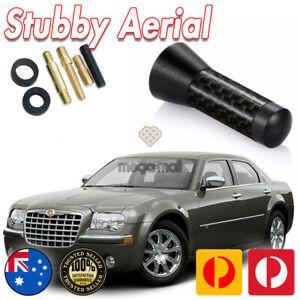 Antenna / Aerial Stubby Bee Sting for Chrysler 300C 2008-2011 Black 3.5cm