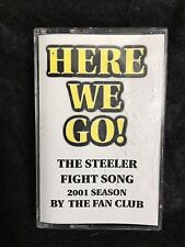 HERE WE GO THE STEELER FIGHT SONG 2001 CASSETTE