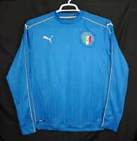 Puma Italy National Team Authentic Team Product Replica Soccer Jersey Mens's L