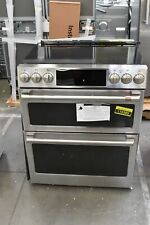 """Ge Café Chs950P2Ms1 30"""" Stainless Double Oven Electric Range Nob #116389"""