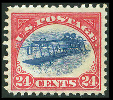 US #C3a; 24¢ INVERTED JENNY ERROR  » PETER WINTER FORGERY «