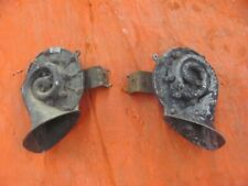Original Delco Horns PAIR 9000413 9000414 60 61 Chevy Cadillac? 1960 1961