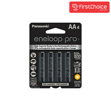 Panasonic Eneloop Pro 4 Pack AA NiMH 2550mAh Rechageable Batteries