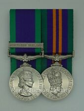 Full Size Court Mounted Medals GSM & Northern Ireland Clasp with ACSM 2011