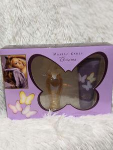 Mariah Carey Dreams Gift 2 pc Set 1.7 oz perfume Spray 3.4 oz Lotion