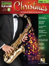 Christmas Saxophone Play-Along Book Audio Online NEW 000148170